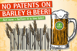 No Patents on Beer