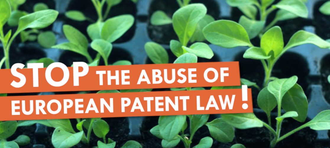 Stop the abuse of European patent law