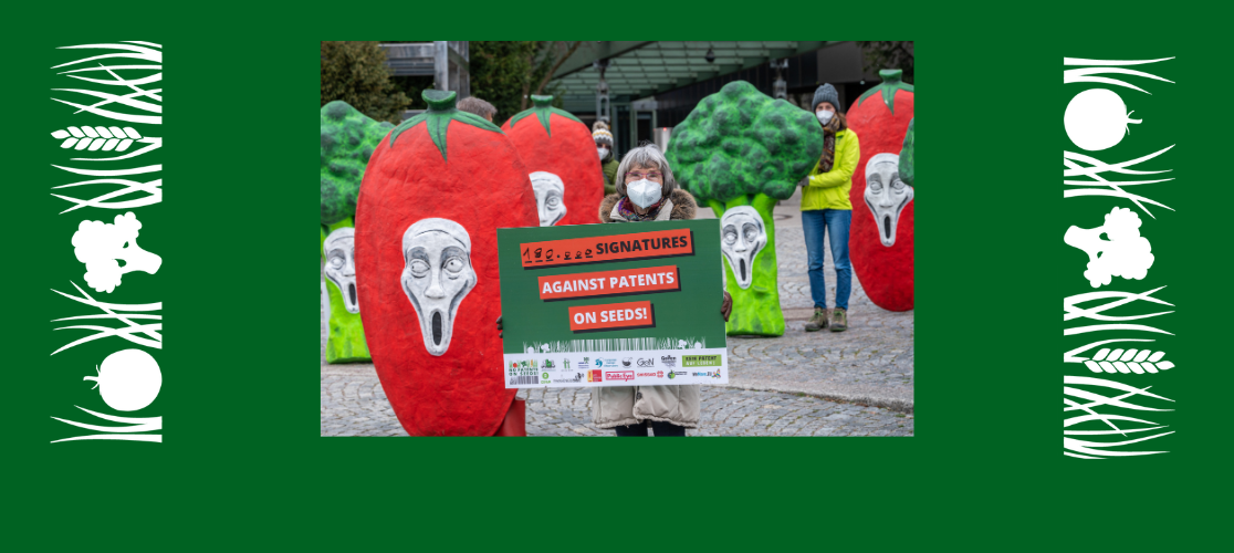 180.000 signatures against patens on seeds