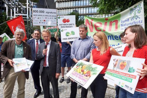 Patente auf Tomaten widerrufen