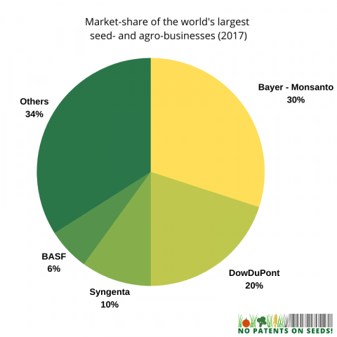 market share of the worlds largest agrobusinesses