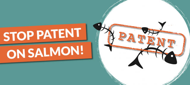 Stop Patent on Salmon!