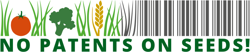Logo no patents on seeds